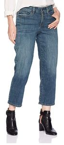 NWOT NYDJ Jenna Straight Ankle Lift Tuck Jeans 0P
